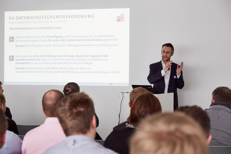 DSGVO Vortrag Couplink