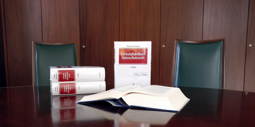 Formularhandbuch Datenschutzrecht DSGVO